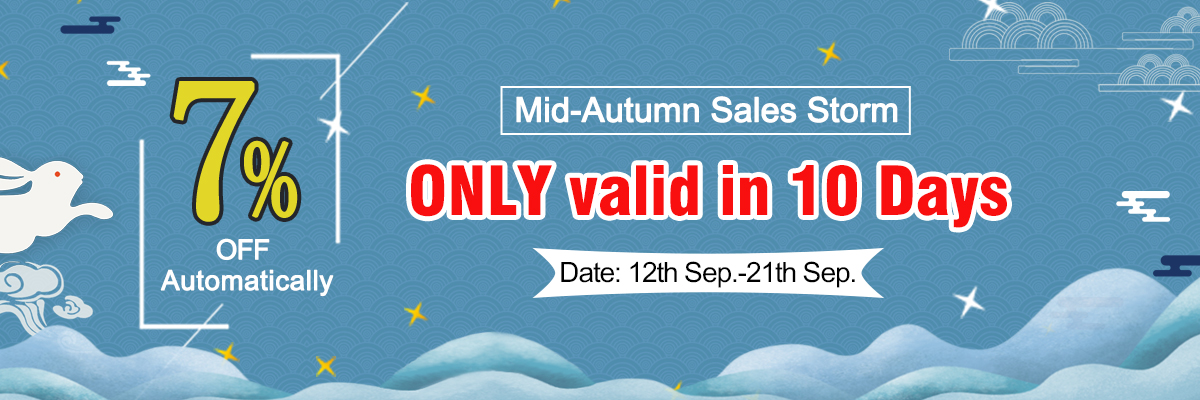 7% off Mid-Autumn Sale