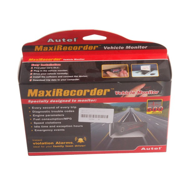 MaxiRecorder™ Vehicle Monitor