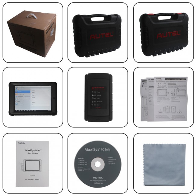 100% Original Autel MaxiSys Mini MS905 Automotive Diagnostic and Analysis System (HKSP262-B Instead)