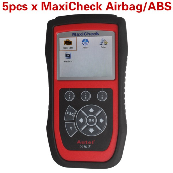 5pcs/lot Wholesale Price Autel MaxiCheck Airbag/ABS SRS Light Service Reset Tool