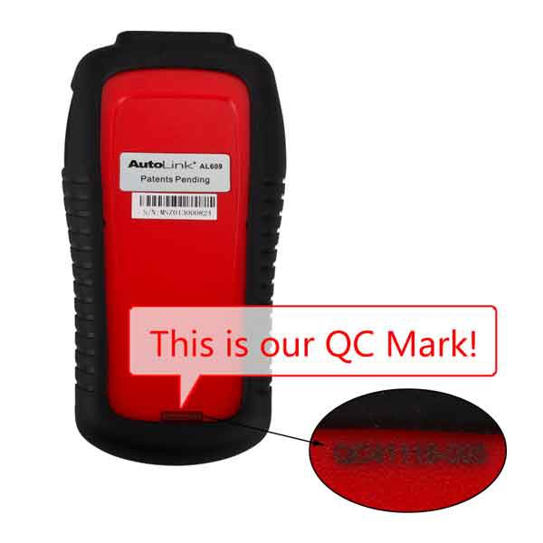 100% Original Autel AutoLink AL609 ABS CAN OBDII Diagnostic Tool ABS System Codes Support Multiple language