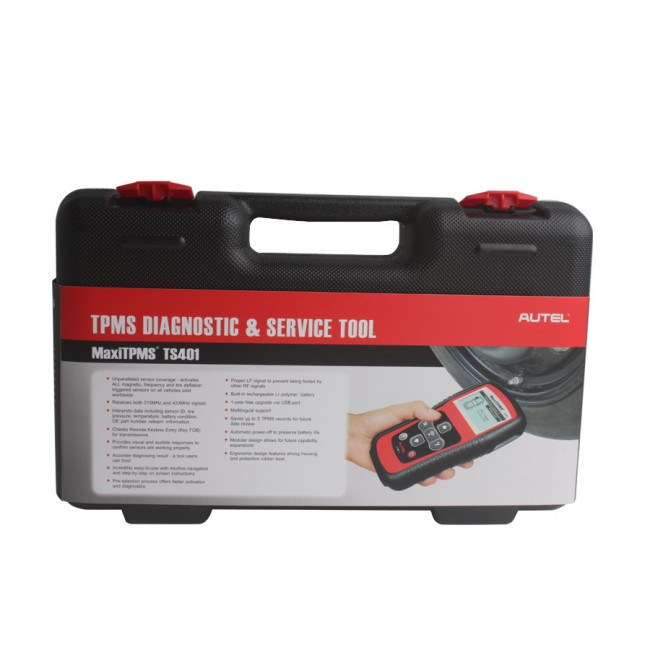 100% Original Autel MaxiTPMS® TS401 V5.22 TPMS Diagnostic and Service Tool