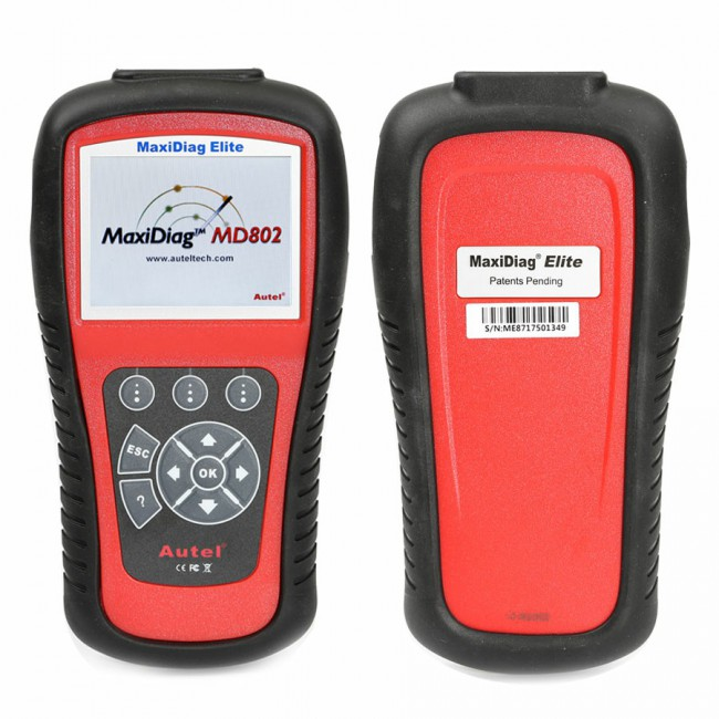 100% Original Autel MaxiDiag Elite MD802 4 System with Data Stream(including MD701,MD702,MD703 and MD704)