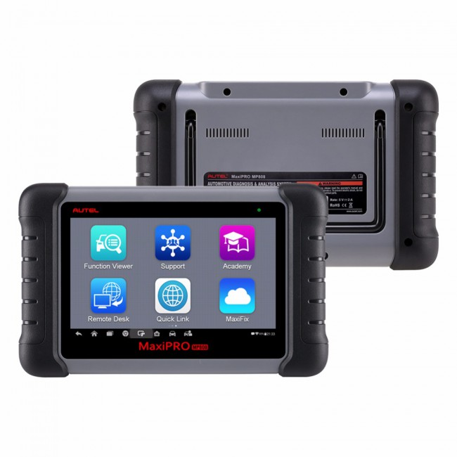 100% Original AUTEL MaxiPRO MP808 OBD2 Automotive Scanner Professional OE-level OBDII Diagnostics Tool Key Coding PK MaxiDAS DS808 DS708 Maxisys MS906