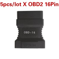 5pcs/lot Wholesale Price OBD2 16Pin Connector for JP701 Code Reader