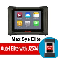 100% Original Autel MaxiSys Elite with Wifi / Bluetooth OBD Full Diagnostic Scanner with J2534 ECU Programming [Ship from UK]