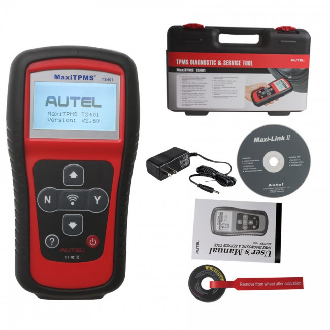 Sales! Value Bundle of AUTEL MaxiDAS DS808 Full Set Plus Autel MaxiTPMS® TS401