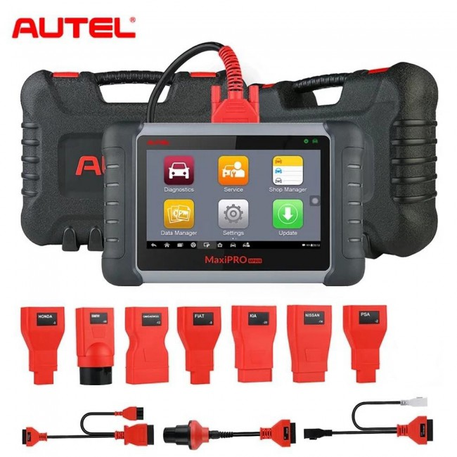 [UK Ship] Multi-language Original Autel MaxiPro MP808K with OE-Level All Systems Diagnosis with Bi-Directional Control Key Coding (Same as DS808K)